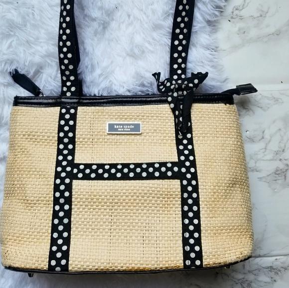 7702270e3edd kate spade Bags | Sale Kate Spade Straw Woven Purse | Poshmark